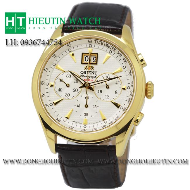 Đồng hồ Orient FTV01002W0, phiên bản đồng hồ đeo tay nam với thiết kế mặt đồng hồ tròn