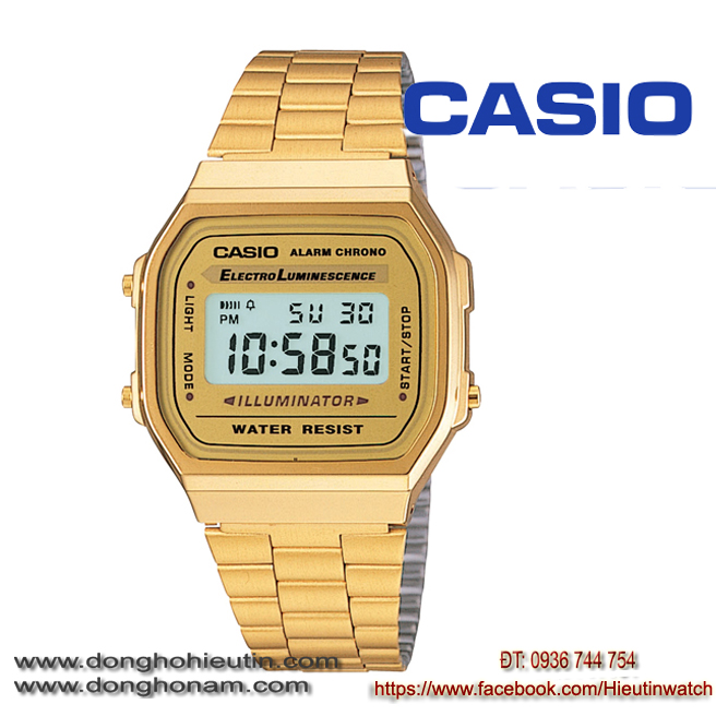 Đồng hồ Casio A168WG-9WDF
