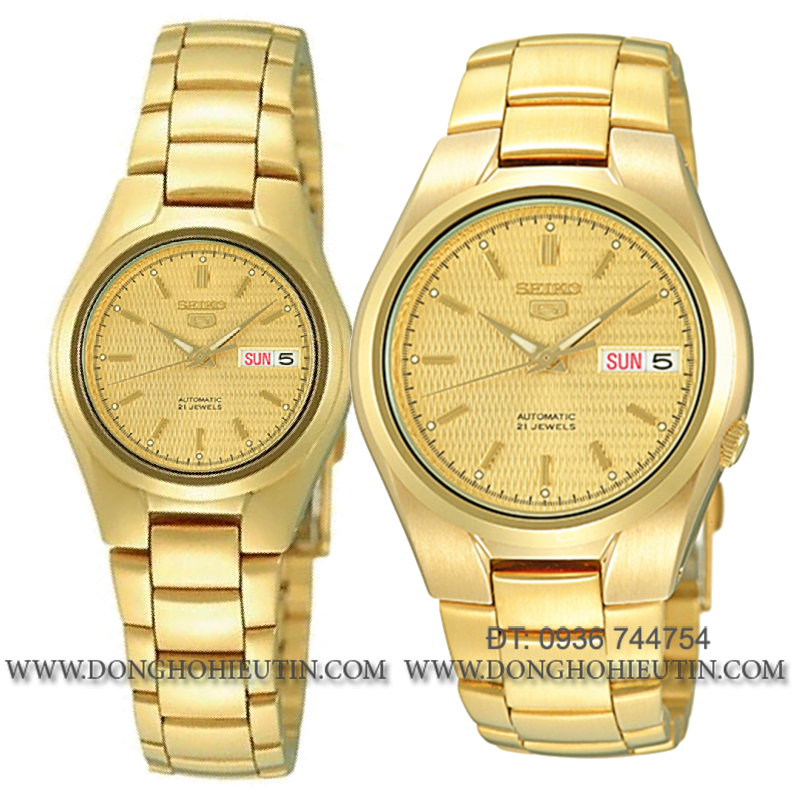 ĐỒNG HỒ SEIKO SYMC18K1 - Đồng hồ nữ máy tự động 21 chân kính , thiết kế cặp đôi với đồng hồ nam SNK610K1.